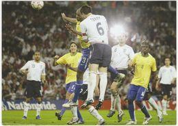 Wembley New Stadium: JOHN TERRY Netting Englands First Goal (ENGLAND Vs. BRAZIL (1st International Friendly 1 June 2007) - Calcio