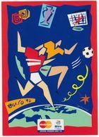 EURO '96 ENGLAND - Mastercard Official Sponsor '96 - (Soccer/Voetbal/Football/Fußball) - Calcio