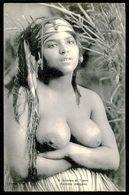 AFRICA - SCENES ET TYPES Nº 8 -   Femme Aux Seins Nus - Femme Indigene. (Ed. Coll. Ideal P.S. ) Carte Postale - Afrique Du Nord (Maghreb)