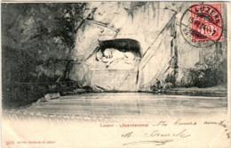 31re 941 CPA - LUZERN - LOWENDENKMAL - LU Lucerne