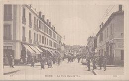 ALGERIE BONE  LA RUE GAMBETTA - Annaba (Bône)