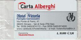 57-Carta Alberghii-Hotel Vittoria-Dimaro Val Di Sole (TN)-Nuova In Confezione Originale-scritta In Inglese - Italy