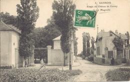 Sannois, Entree Du Chateau De Cernay Et Rue Magendie - Sannois