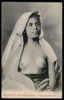 EGYPTE-  Femme Aux Seins Nus -  Jeune Fille Egyptienne. ( Ed. Beliar Et Fils. Nº 313 ) Carte Postale - Afrique Du Nord (Maghreb)