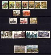 Afrique Du Sud - RSA - Lot De 18 Timbres - Flore, Faune, Architecture Et Paysages - Sud Africa (1961-...)