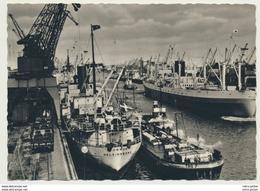 AK  Schiff Kran Bremen Überseehafen - Non Classificati