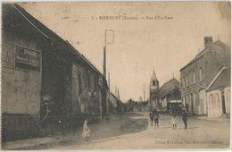 RIBEMONT RUE D'EN HAUT - Francia