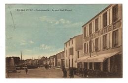 85 VENDEE - ILE D'YEU Port Joinville, Le Quai Sadi Carnot (voir Descriptif) - Ile D'Yeu