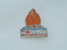 Pin's DIEPPE, A.C.P.G.  C.A.T.M. - Militaria