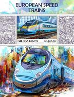 Sierra Leone 2017 European Speed Trains - Sierra Leone (1961-...)