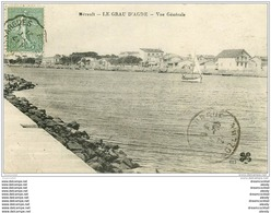 34 LE GRAU D'AGDE 1921 - Agde