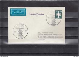 DDR  Michel Kat.Nr.  Flugpost Interflug 1989 Berlin -  Mailand - Covers