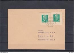 DDR  Michel Kat.Nr.   GA Ausschnitte 10pf Ulbricht Auf Brief - [6] República Democrática