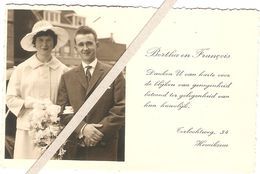 Hemiksem : Herinnering Aan Huwelijk Bertha En François - Hemiksem