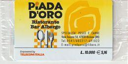 64-Carta Alberghi-Piada D' Oro-Riccione (RN)-Nuova In Confezione Originale - Italy