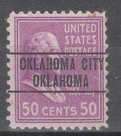 USA Precancel Vorausentwertung Preo, Locals Oklahoma, Oklahoma City 263 - United States