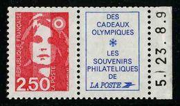 FRANCE - YT 2715a ** - BRIAT - TIMBRE NEUF ** DE CARNET AVEC VIGNETTE - 1989-96 Marianne Du Bicentenaire