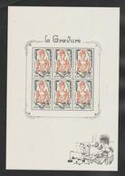 "FRANCE / 2020 / Y&T N° 5408 En Feuillet ? ** : ""La Gravure"" (feuillet De 6 TP) X 1 - Unused Stamps"