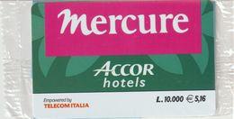 65-Carta Alberghi-Mercure-Accor Hotels-Nuova In Confezione Originale - Italy