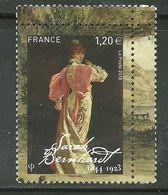 2018 Yt 5262 (o) Acteurs Et Actrices Du XIXe Siècle Sarah Bernhardt 1844-1923 - France