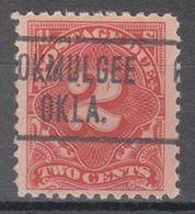 USA Precancel Vorausentwertung Preo, Locals Oklahoma, Okmulgee J62-466 - United States