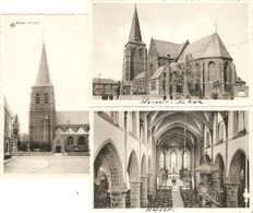 Herselt : De Kerk ---- 3 Kaarten - Herselt