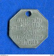 St  Avold  57    25  Pf  1917 - Monétaires / De Nécessité