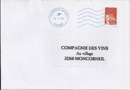 MARIANNE DE LUQUET N°4296 SUR LETTRE DE 2005 - 1997-04 Marianne Of July 14th