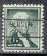 USA Precancel Vorausentwertung Preo, Locals Oklahoma, Olustee 802 - United States