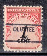 USA Precancel Vorausentwertung Preo, Locals Oklahoma, Olustee 841 - United States