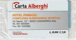 67-Carta Alberghi-Hotel Pamagiu-Casandrino (NA)-Nuova In Confezione Originale - Italy