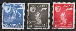 Qatar 1961 Sheikh  Naye Paisa Sheikh Ahmed Bin Ali Al-Thani Used - Qatar