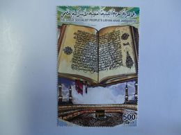 LIBYA USED BIG STAMPS UNITS 500 BOOK - Libyen