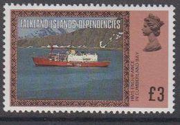 Falkland Islands Dependencies (FID) 1980 Definitives / Ships Highest Value 3 GBP ** Mnh (48683) - South Georgia