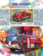 Sierra Leone 2017 Fire Engines - Sierra Leone (1961-...)