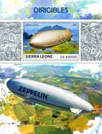 Sierra Leone 2017 Dirigibles, Airships - Sierra Leone (1961-...)