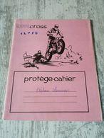 Protége Cahier Vintage Moto Cross - Löschblätter, Heftumschläge