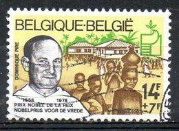 BELGIQUE. N°1915 De 1978 Oblitéré. Prix Nobel De La Paix/Père Dominique Pire. - Nobelpreisträger