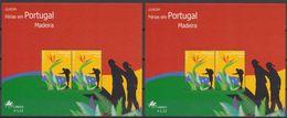 Cept 2004 Portugal Madère Madeira Yvertn° 2 X Bloc 29 *** MNH  Cote 7 € Les Vacances - 2004