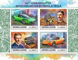 Sierra Leone 2017 Induction Motor By Nikola Tesla - Sierra Leone (1961-...)