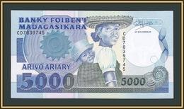 Madagascar 5000 Francs 1993 P-73 (73b) UNC - Madagascar