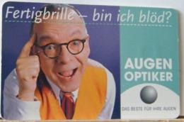 GR19 - GERMANIA - 12 DM  -  AUGEN OPTIKER - R 0003 04.1999 BIS 06/2002 - Deutschland