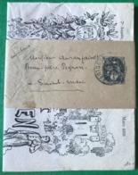 France, Bande Journal N°107-BJ, Avec Journal LE PETIT MONTILIEN (mars 1931) - (B3071) - Enteros Postales