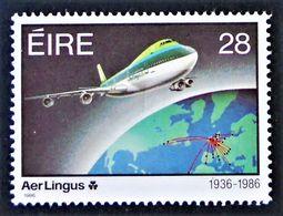 "50 ANS DE ""AER LINGUS"" 1986 - NEUF ** - YT 597 - MI 594 - Nuovi"