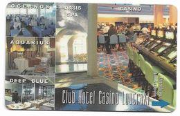 Club Hotel Casino Loutraki, Greece, Used Magnetic Hotel Room Key Card, # Loutraki-1 - Casino Cards