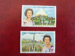 1979  Visit Of Queen Elisabeth II   SG =  156 / 157   ** MNH - Man (Insel)