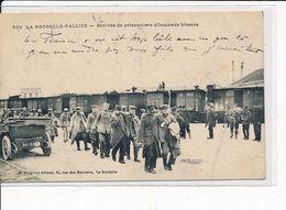 LA ROCHELLE-PALLICE : Arrivée De Prisonniers Allemands Blessés - Très Bon état - La Rochelle
