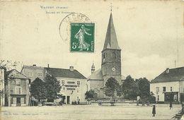 88 VOSGES VAGNEY MAGASIN CAMILLE THOMAS HOTEL POSTE 1908 JOLI  PLAN  A VOIR - France