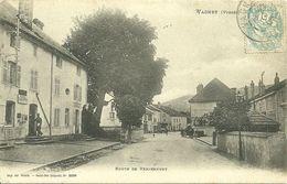 88 VOSGES VAGNEY LA POSTE 1906 JOLI  PLAN  A VOIR - France