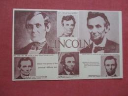 Multi View Lincoln ------      Ref 4216 - Personaggi Storici